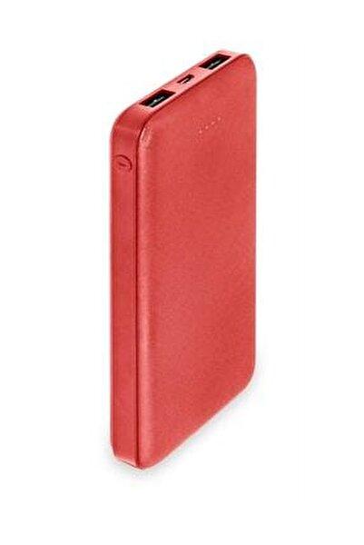 10000 Mah Slim Powerbank-kırmızı