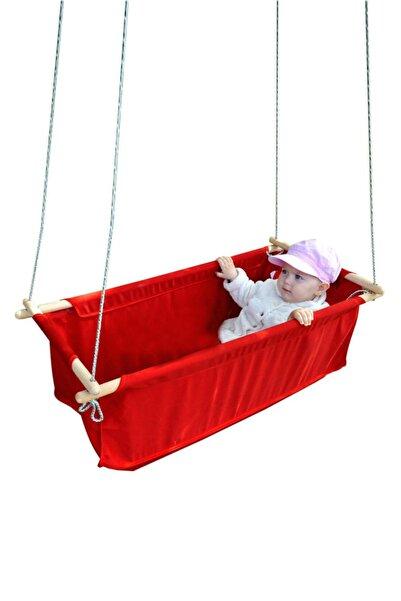 Bundera Sally Salıncak Bebek Çocuk Salıncağı Hamak Beşik Bebek Hamağı Çingene Beşiği Salıncağı Kırmızı