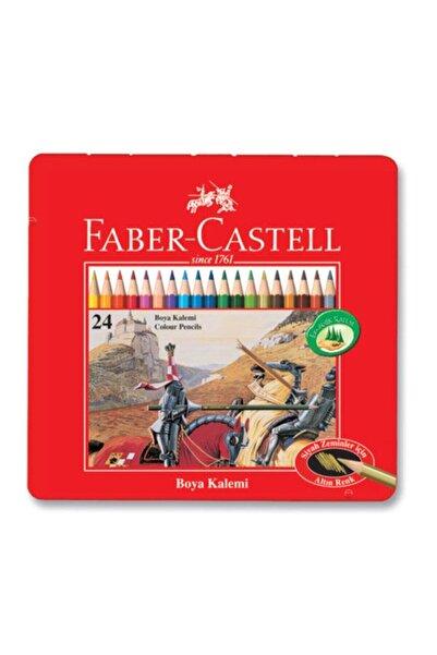 Faber Castell Faber 24 Metal Kutu Uzun Kuru Boya Kalemi 115845