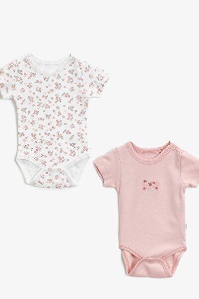Koton Kız Bebek Pembe Çocuk Takımları 1Yng11350Ok
