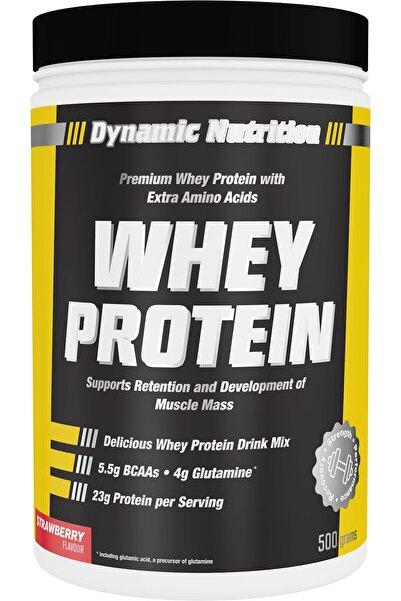 Dynamic Nutrition Whey Protein Tozu 500 gr (çilek Aromalı)