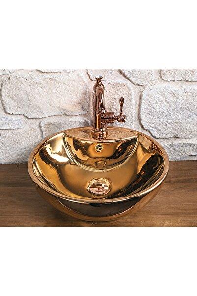 Pure Concept Bowl Rose Gold Çanak Lavabo