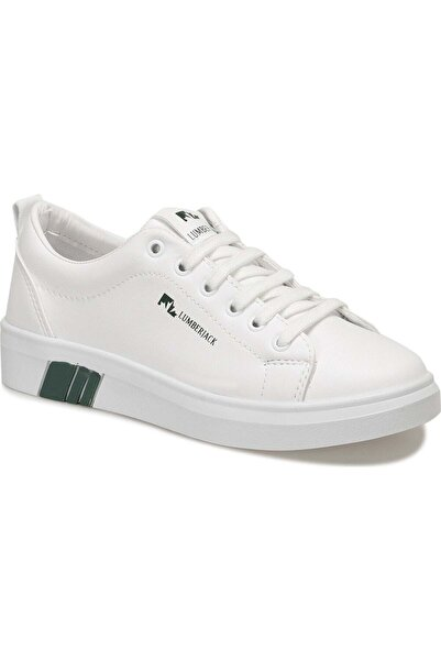 lumberjack Tina 1fx 100696363 Beyaz Yeşil Kadın Erkek Günlük Spor Ayakkabı - - Beyaz - 40