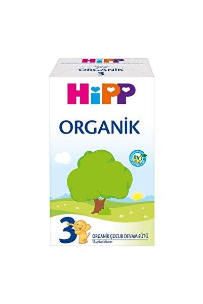Hipp 3 Organik Devam Sütü 600 gr
