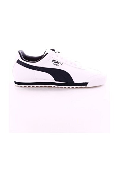 Puma Roma Basic White-new Navy