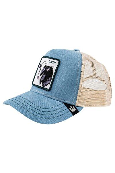 Goorin Bros Unisex Mavi Cash Cow Şapka 101-0641