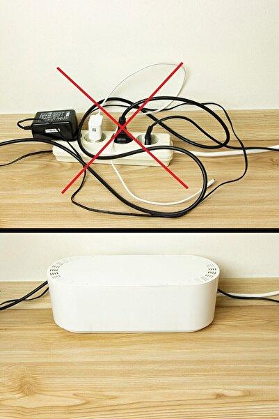 Leva House Kablo Düzenleyici Kablo Toplayıcı Kablo Kutusu Organizer