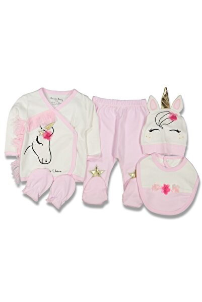 Dreambaby Unicorn Nakışlı 5 Li 0-3 Ay Bebek Hastane Çıkışı