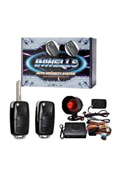 Sustalı Kumandalı Inwells 3444 12 Volt Oto Alarm