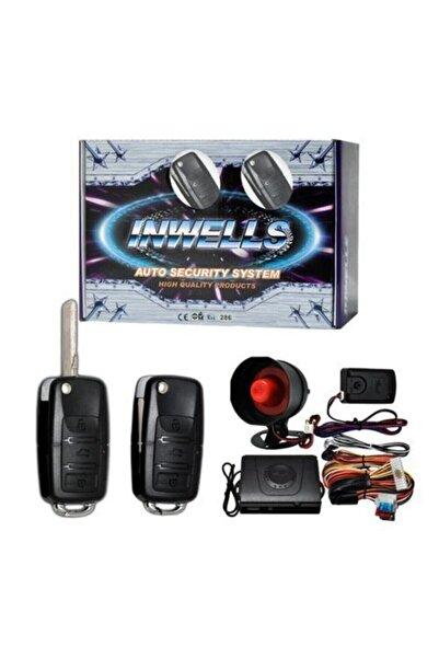 Inwells Sustalı Kumandalı Inwells 3444 12 Volt Oto Alarm