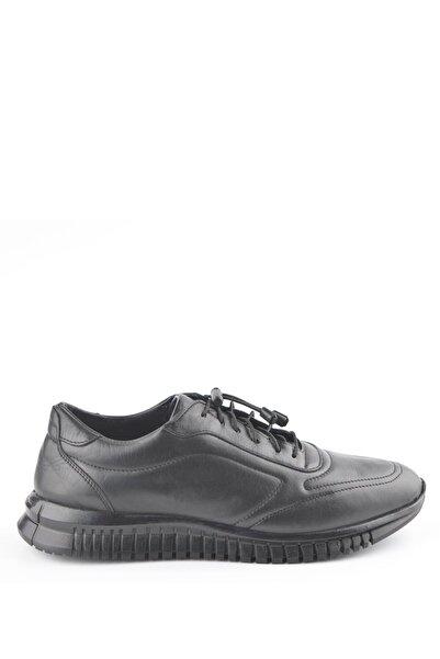 İgs Erkek Siyah Deri Günlük Ayakkabı I920 M 1000