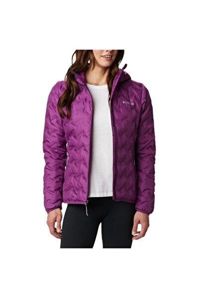 Columbia Wk0260-575 Delta Ridge Down Hooded Jacket Kadın Mont
