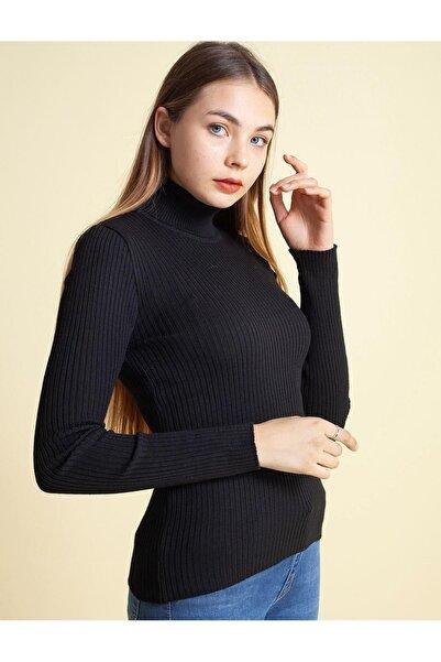 Fashion Friends 20k0288b1 Kadın Kazak Siyah