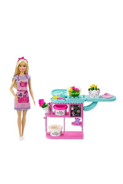 mattel Barbie Çiçekçi Bebek Ve Oyun Seti Gtn58