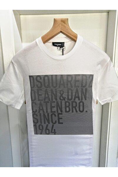 DSquared2 Baskılı Beyaz Tişört