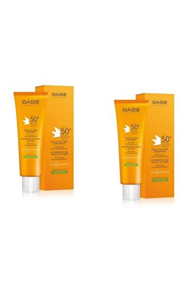 Babe Facial Oil-free Sunscreen Spf 50+ 50 ml 2 Kutu