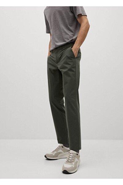 MANGO Man Packable Koleksiyon Dar Kesim Pantolon