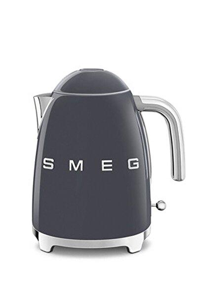 SMEG Klf03greu Paslanmaz Çelik Barut Gri Kettle Su Isıtıcısı