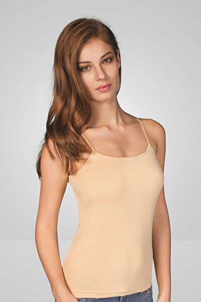 Berrak Ribana Ten Rengi Ip Askılı Kadın Atlet Body | 2 Li Paket