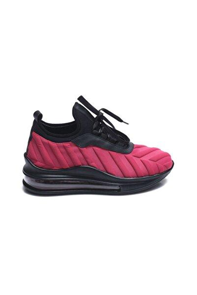 ROUGE Deri Bagcikli Kadin Spor & Sneaker Z4207