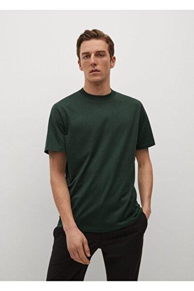 MANGO Man Regular Kesim Merserize Gömlek