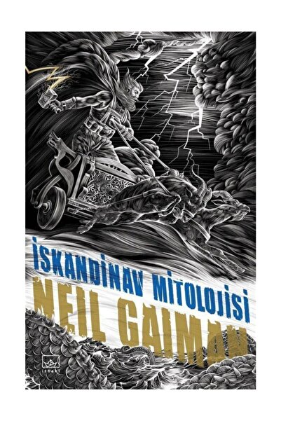 İthaki Yayınları İskandinav Mitolojisi - Neil Gaiman
