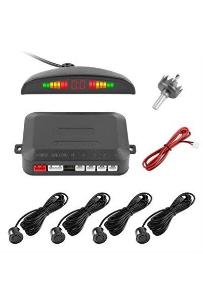 My4Car Türkçe Konuşmalı Ekranlı Siyah Sensörlü Araç Park Sensörü 428808