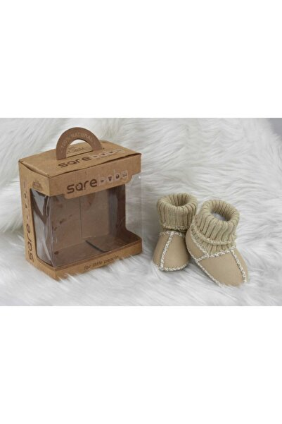 Sarebaby Sare Baby Organik Deri Bebek Ayakkabısı Yeni Sezon Unisex