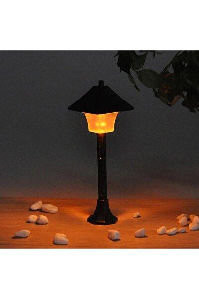 elaela Teraryum Obje Işıklı Sokak Lambası