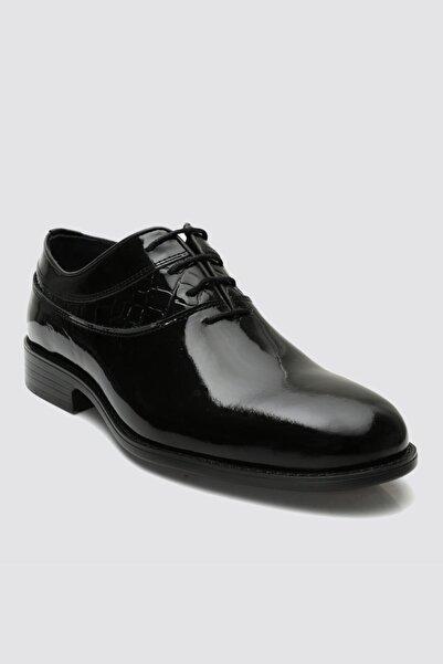 D'S Damat Siyah Smokin Ayakkabı