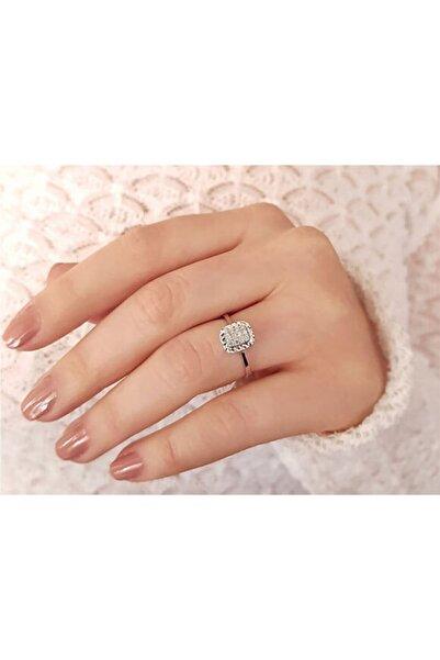 BLUE MOON DIAMOND 0,10 Karat Pırlanta Baget Yüzük