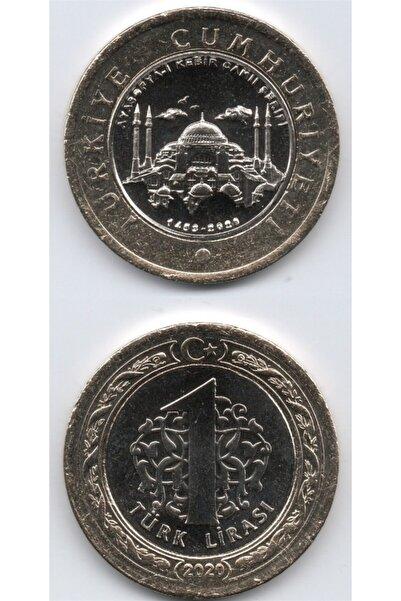 Benim Koleksiyonum Ayasofya-i Kebir Camii Şerifi (tedavül) Hatıra Parası