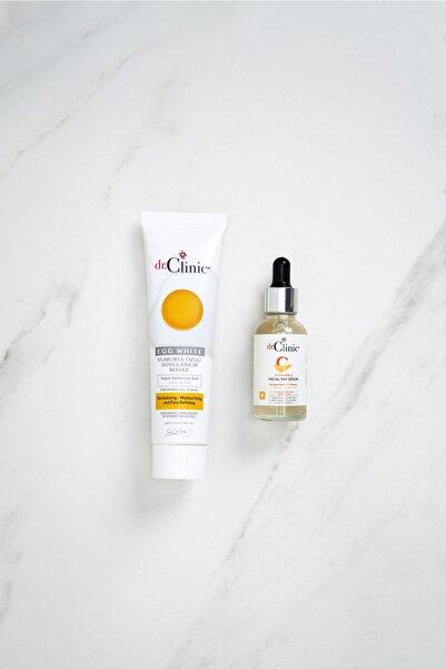 Dr. Clinic Cilt Bakım Seti (yumurta Maske+ C Serum)