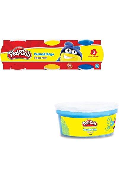 Play Doh 3 Renk Parmak Boyası 40 ml