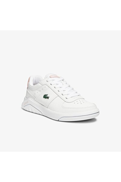 Lacoste Game Advance 0721 2 Sfa Kadın Beyaz - Pembe Sneaker 741SFA0090