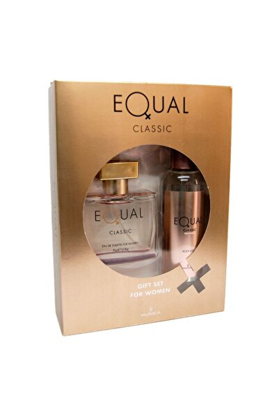 Equal Edt 75 Ml + Body Mıst Kadın Classıc