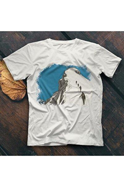 TisortFabrikasi Everest Beyaz Unisex Tişört