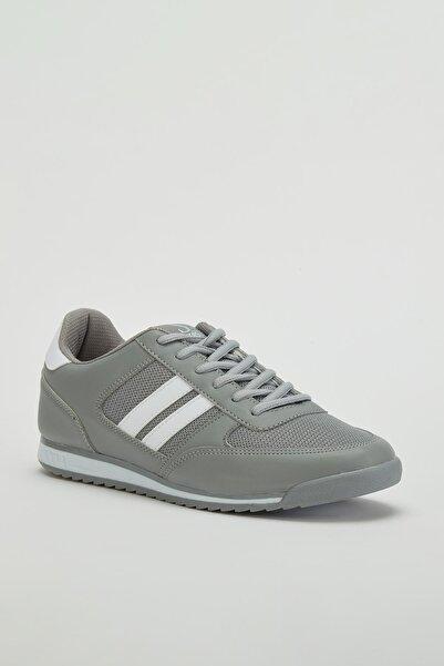 MUGGO Erkek Gri Sneaker Ayakkabı Mgpalermo02