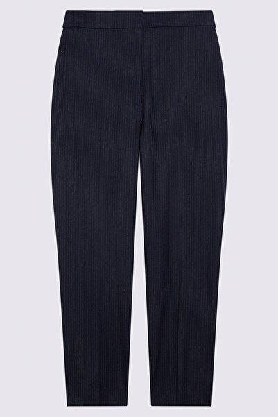 Marks & Spencer Kadın Lacivert Evie Straight Pantolon T59006707