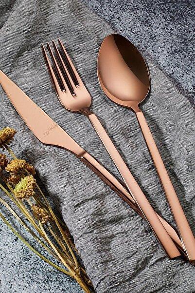 Aryıldız Bronz Vogue Pvd 24 Parça Çatak Kaşık Bıçak Takımı