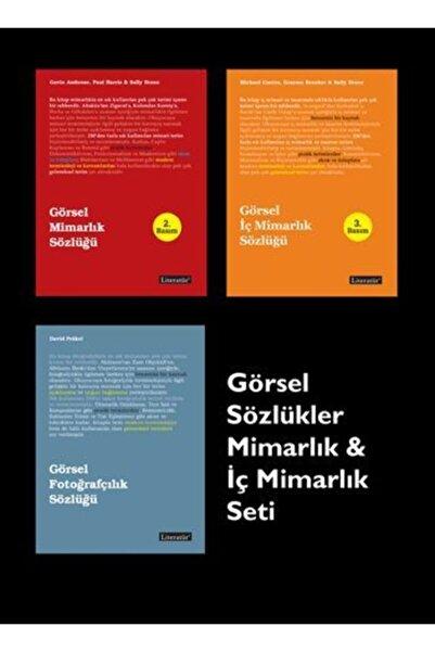 Literatür Yayıncılık Görsel Sözlükler Mimarlık ve İç Mimarlık Seti (3 Kitap Kutulu)