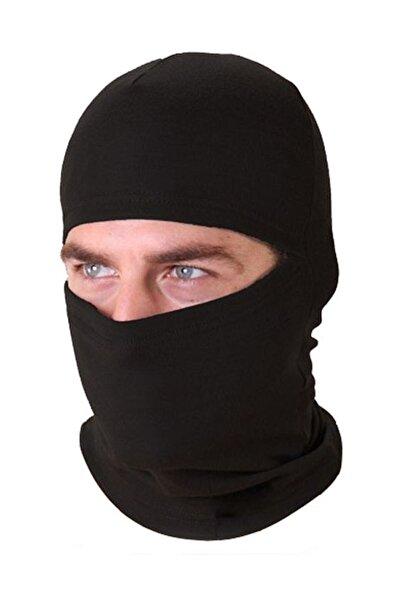 Silyon Askeri Giyim Siyah Termal Kar Maskesi
