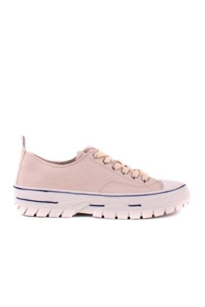 Pierre Cardin - Bej Kadın Günlük Ayakkabı