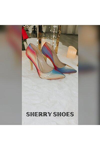 sherry shoes Üç Boyutlu Stiletto