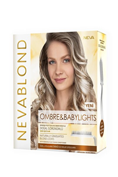 Neva Blond Ombre & Babylights Saç Boyama Seti