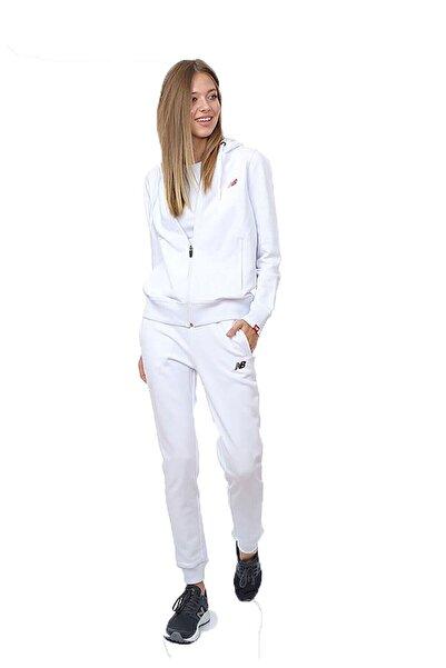 New Balance Kadın Beyaz Spor Sweatshirt Wpj032