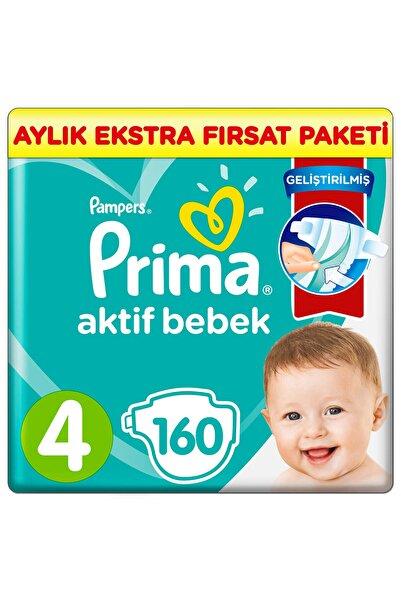 Prima Aktif Bebek 4 Beden 160 Adet Aylık Ekstra Fırsat Paketi