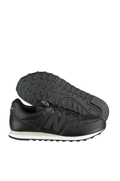 New Balance Kadın Siyah Beyaz  Taban Deri  Spor Ayakkabı Gw500tll V2 500
