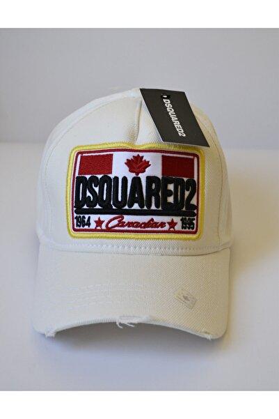 DSquared2 Beyaz Unisex Şapka