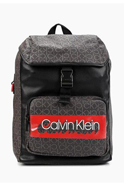 Calvin Klein Ck Mono Backpack W Flap